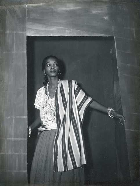 Ruth de Souza Actress Ruth de Souza in the play Aruanda 1950 Actors and