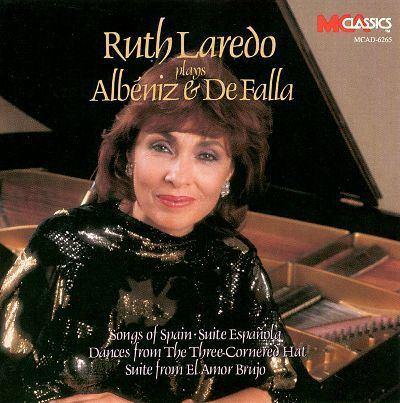 Ruth Laredo Ruth Laredo Plays Albniz amp De Falla Ruth Laredo Songs