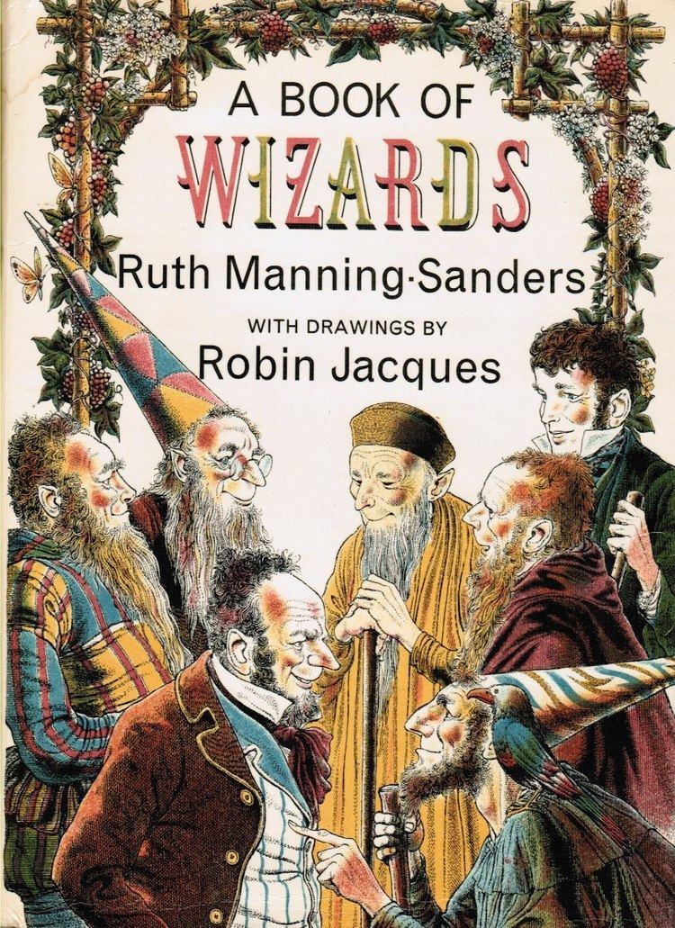 Ruth Manning-Sanders Pictures from an Old Book quotA Book Of Wizardsquot Ruth