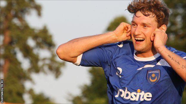 Ryan Bird BBC Sport Portsmouth sign Ryan Bird from Burnham
