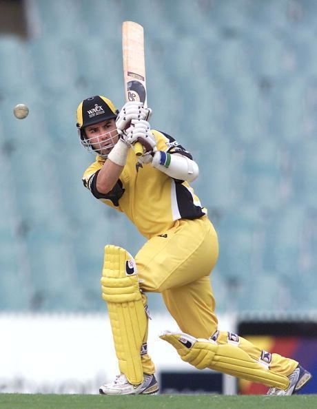 Ryan Campbell (Cricketer) playing cricket