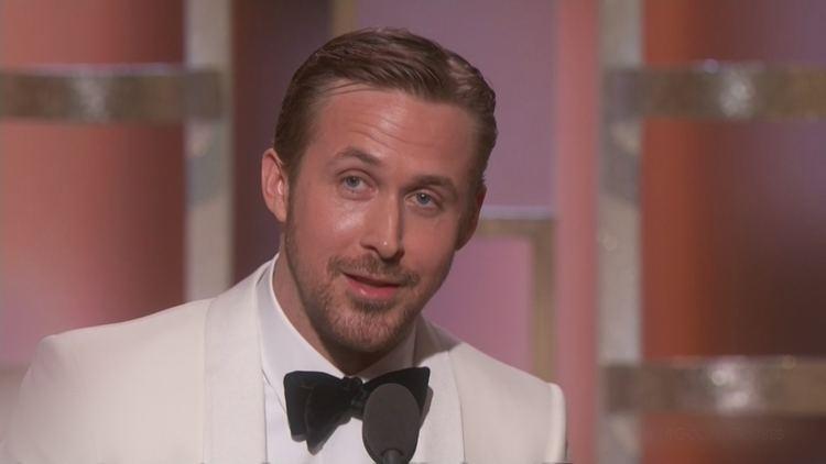 Ryan Gosling Golden Globes 2017 Ryan Gosling pays emotional tribute to Eva