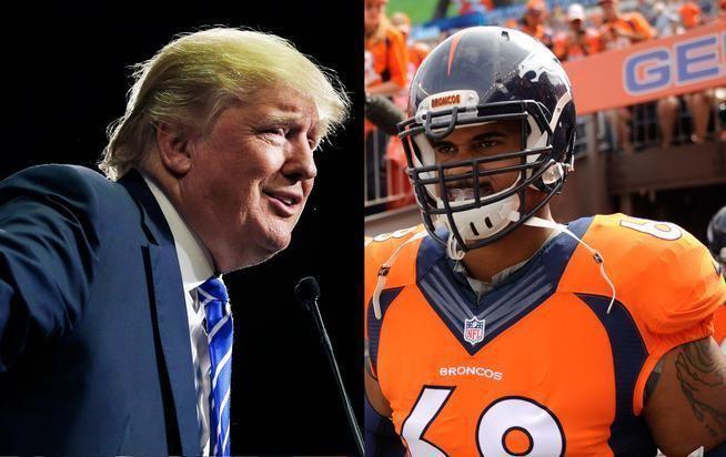 Ryan Harris (American football) Ryan Harris Broncos OT defends fellow Muslims against