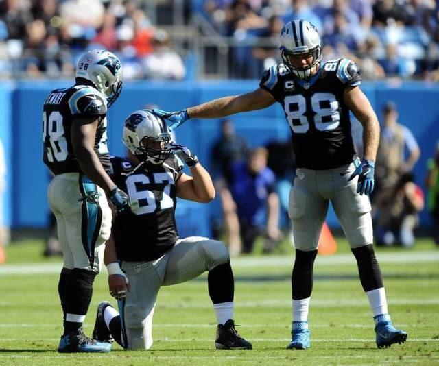 Ryan Kalil NFL Carolina Panthers Injury status Panthers Ryan Kalil and