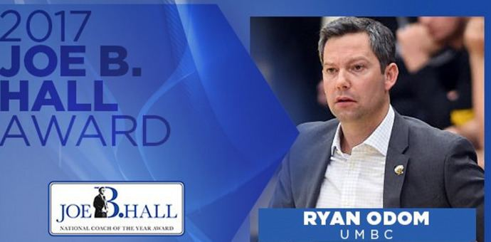 Ryan Odom Ryan Odom Earns Joe B Hall Award as Nations Top FirstYear Head