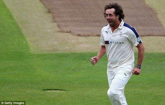 Ryan Sidebottom injury is a blow to Yorkshire as bowler suffers