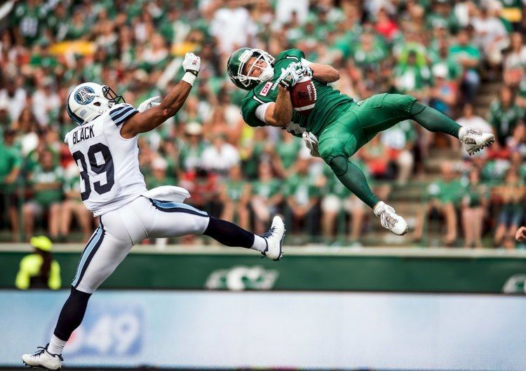 Ryan Smith (Canadian football) Video Saskatchewan39s Ryan Smith may have made the catch