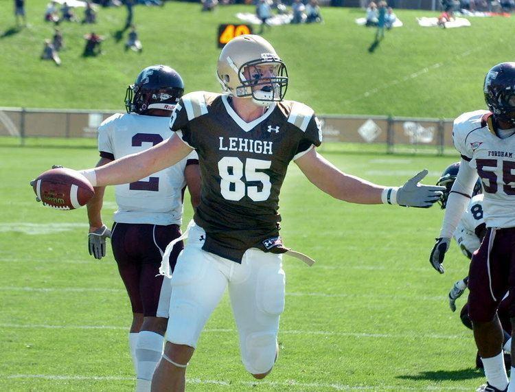 Ryan Spadola Wide receiver Ryan Spadola and Lehigh University stretch
