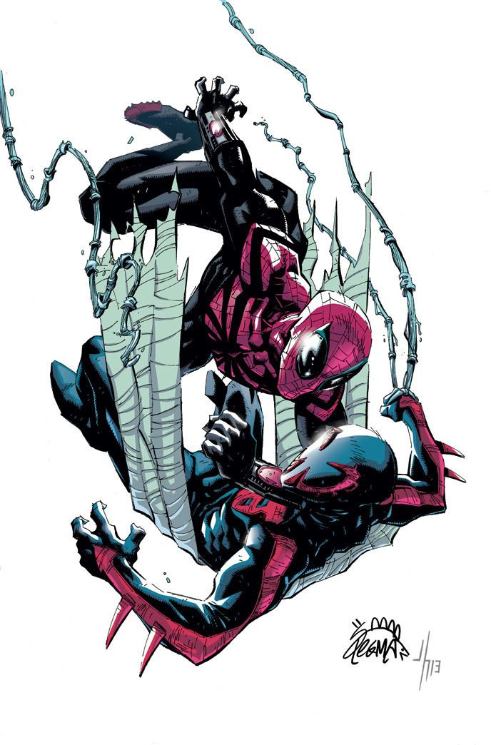 Ryan Stegman Ryan Stegman just posted his covers to Superior SpiderMan
