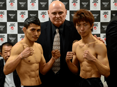 Ryoichi Taguchi Ryoichi Taguchi heavier and taller than Kwanthai Sithmorseng Asian