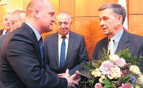 Ryszard Kotla Medal dla mionika Szczecina Ryszard Kotla nagrodzony za zasugi