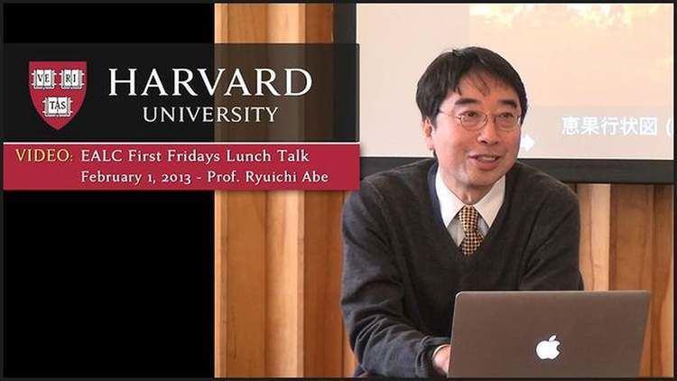 Ryuichi Abe First Friday Lunch Talk Series Ryuichi Abe February 1 2013 on Vimeo