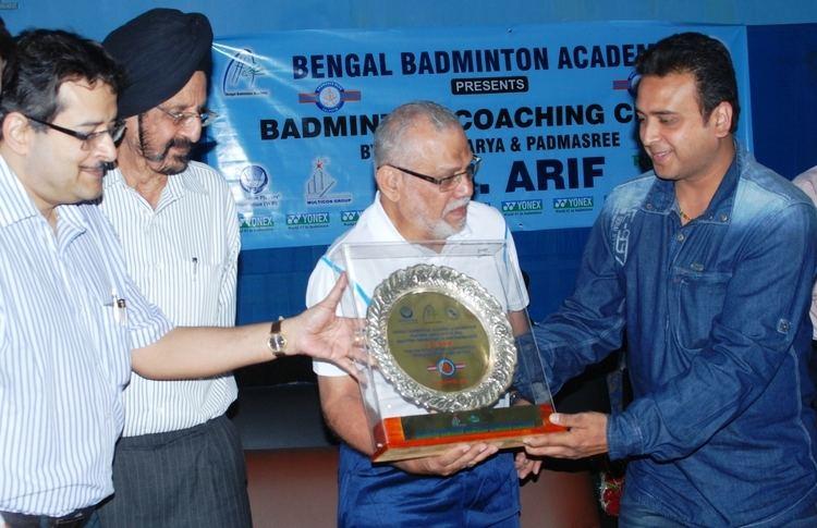 S. M. Arif Coaching clinic by Padmashree and dronacharya Awardee S M Arif