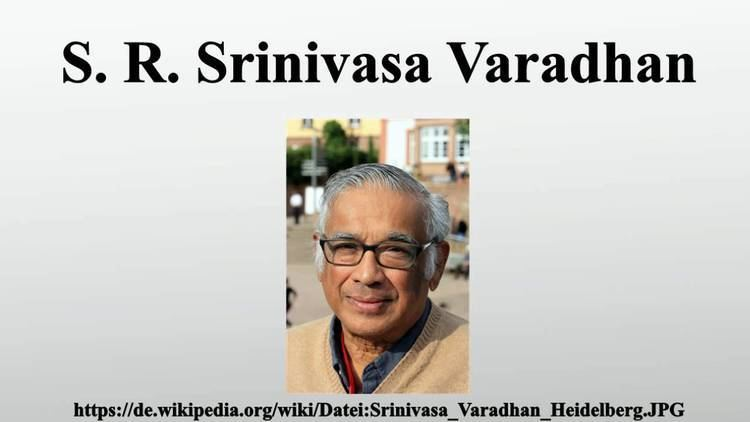 S. R. Srinivasa Varadhan S R Srinivasa Varadhan YouTube