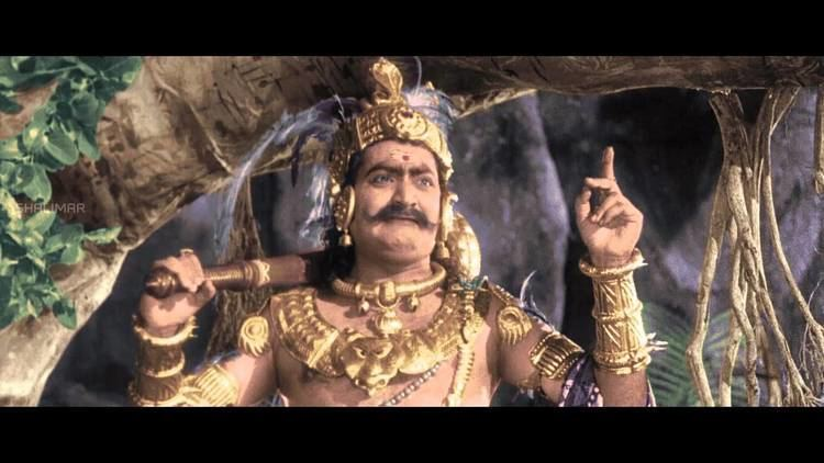 S. V. Ranga Rao Mayabazar Movie S V Ranga Rao Beautiful Introduction as