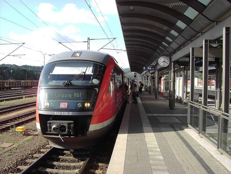 Saalfeld station
