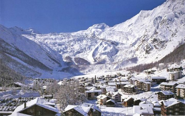 Saas Fee in the past, History of Saas Fee