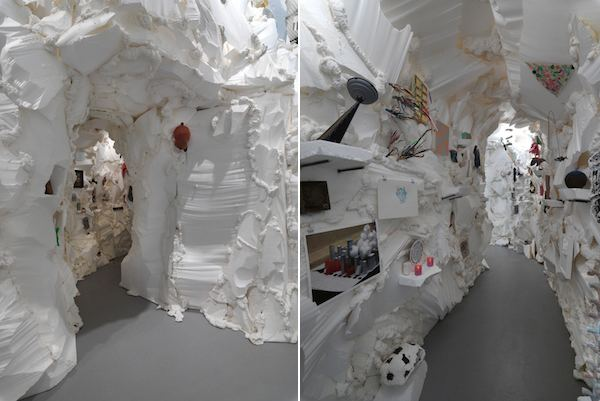 Sabina Ott Sabina Ott on her installation at the Hyde Park Art Center in