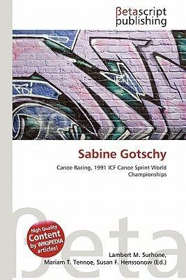 Sabine Gotschy SABINE GOTSCHY
