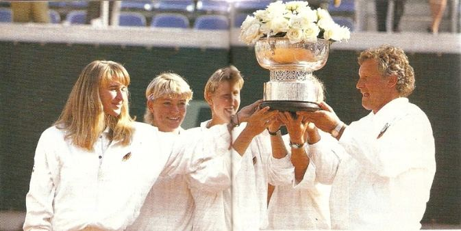 Sabine Hack 1992 Fed Cup Champions Photos Pictures Images and