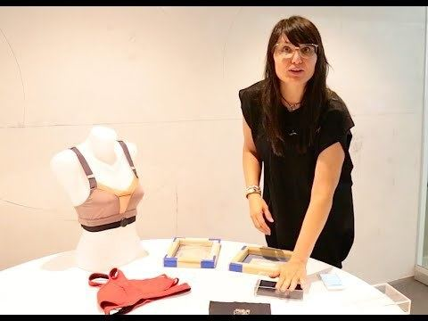 Sabine Seymour Sabine Seymour Introduces SoftSpot Sensor Enabled Clothing YouTube