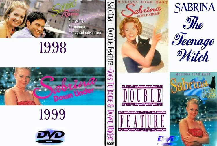 Sabrina Goes to Rome Sabrina The Teenage Witch Goes To Rome Down Under DVD Double