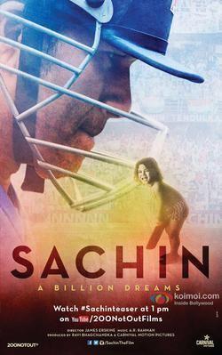 Sachin: A Billion Dreams Sachin A Billion Dreams Wikipedia