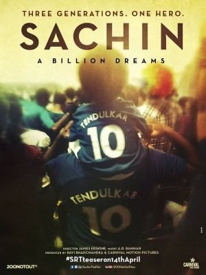Sachin: A Billion Dreams Sachin a billion dreams movie worldwide expectation and release