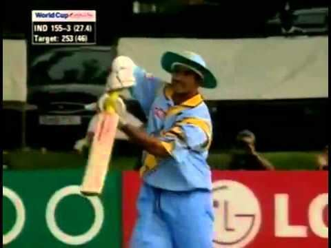 Sadagopan Ramesh Hit SIXFirst and last Six in his International