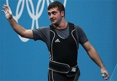 Saeid Mohammadpour Iranian weightlifter Saeed Mohammadpour