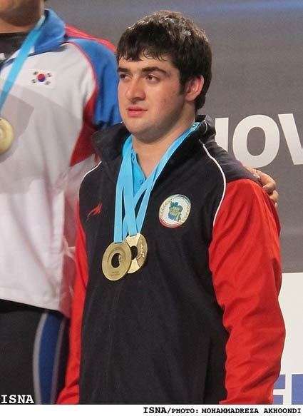 Saeid Mohammadpour Iranian weightlifter Mohammadpour wins bronze at worlds