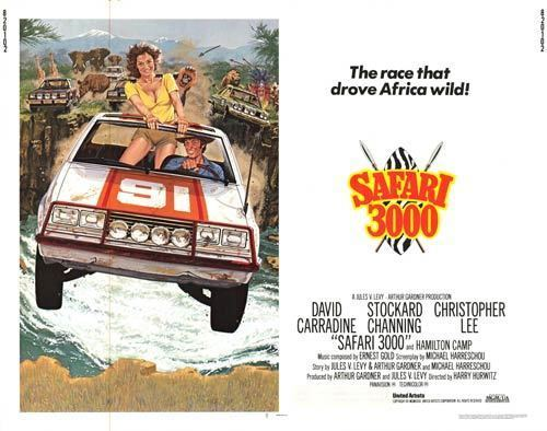 Safari 3000 Safari 3000 movie posters at movie poster warehouse moviepostercom