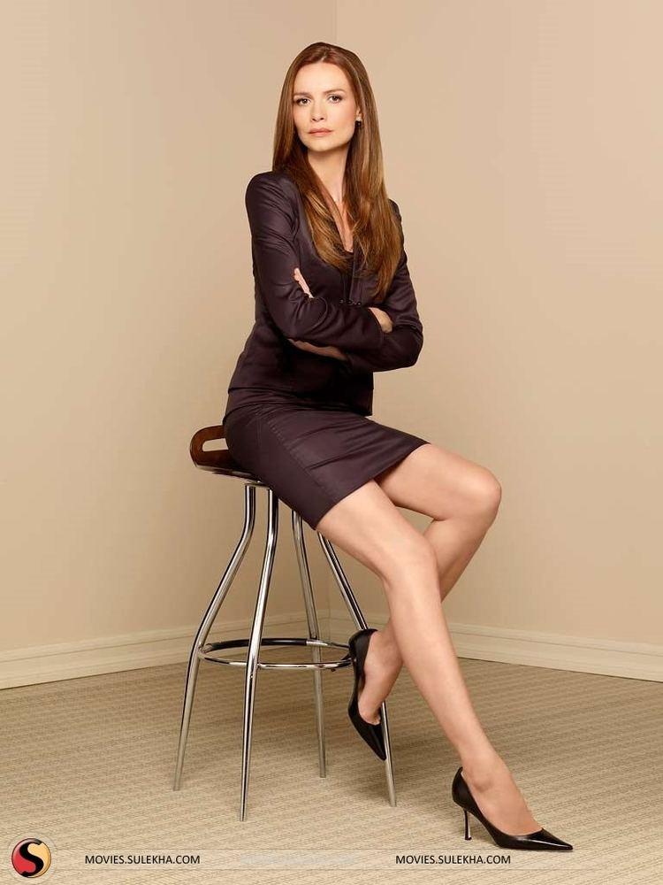 Saffron Burrows EXCLUSIVE Saffron Burrows Cast As Agent Victoria Hand In