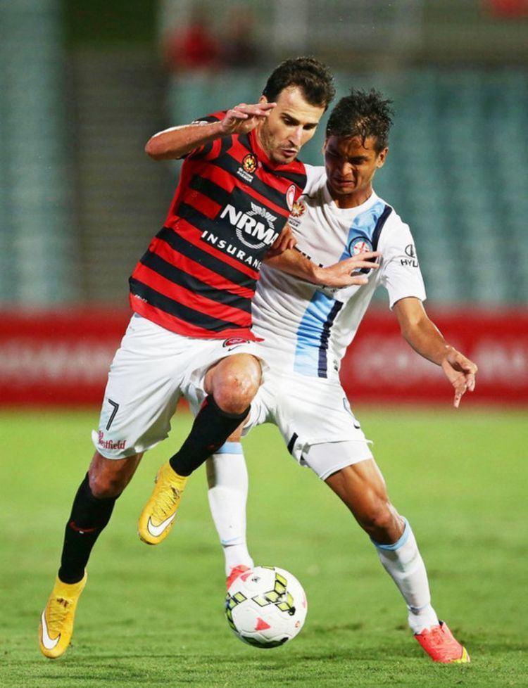 Safuwan Baharudin Safuwan scores again but can39t stop Melbourne losing
