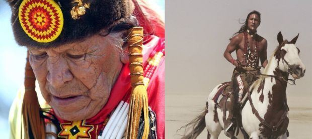 Saginaw Grant Saginaw Grant and Rick Mora native American actors