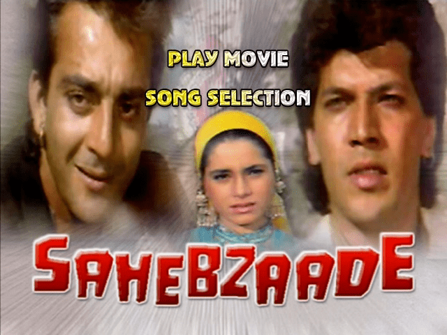 zulmnet View topic Sahebzaade DVD Sanjay Dutt TSeries DVD