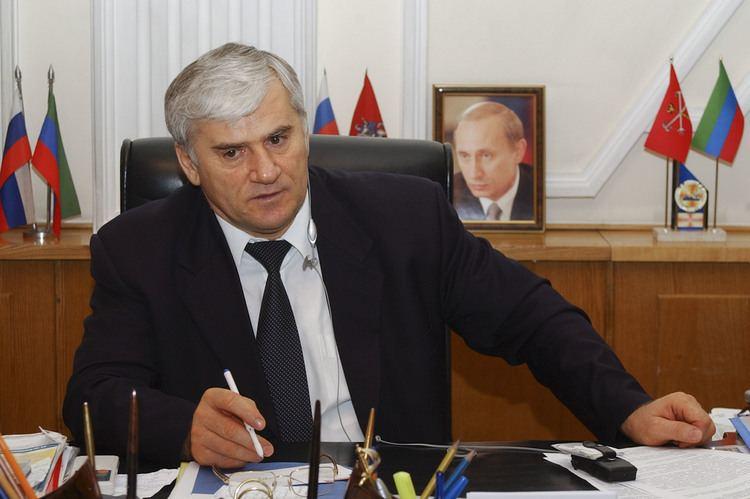 Said Amirov Russian forces seize Dagestan mayor in bid to tame North