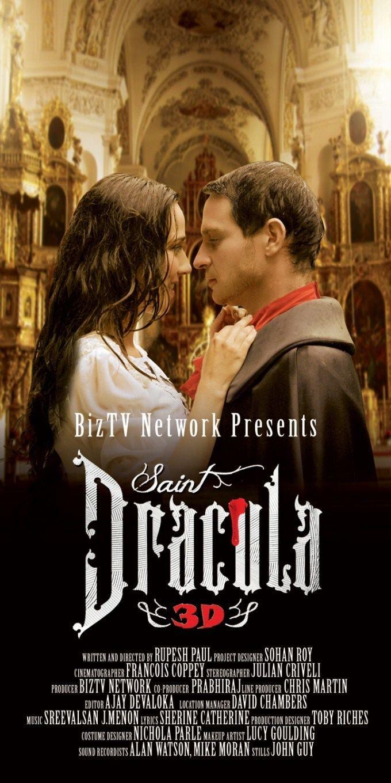 Saint Dracula 3D Saint Dracula 3D First Look Saint Dracula 3D Movie Poster