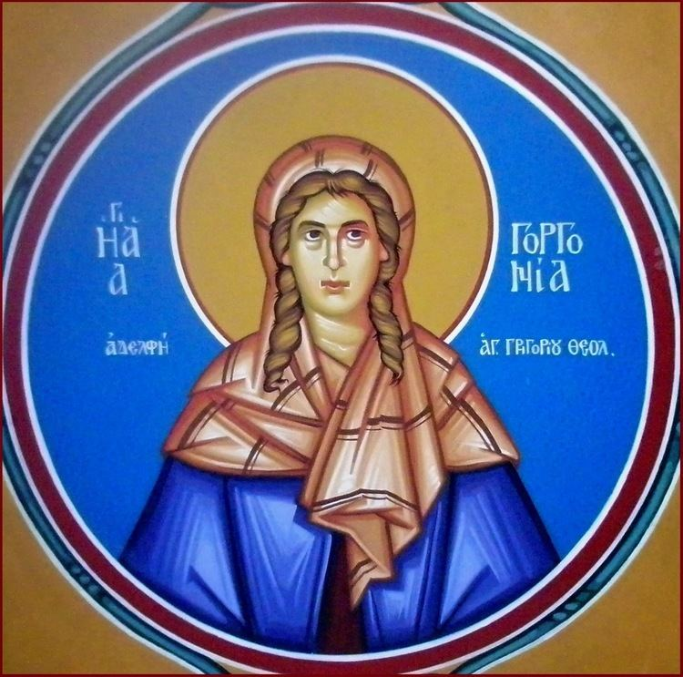 Saint Gorgonia Saint Gorgonia Sister of Saint Gregory the Theologian MYSTAGOGY
