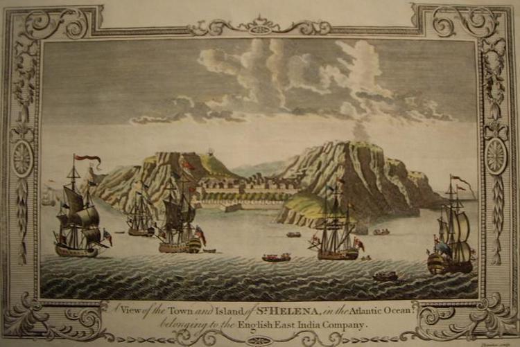 Saint Helena in the past, History of Saint Helena