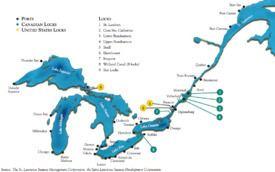 Saint Lawrence Seaway Saint Lawrence Seaway Wikipedia