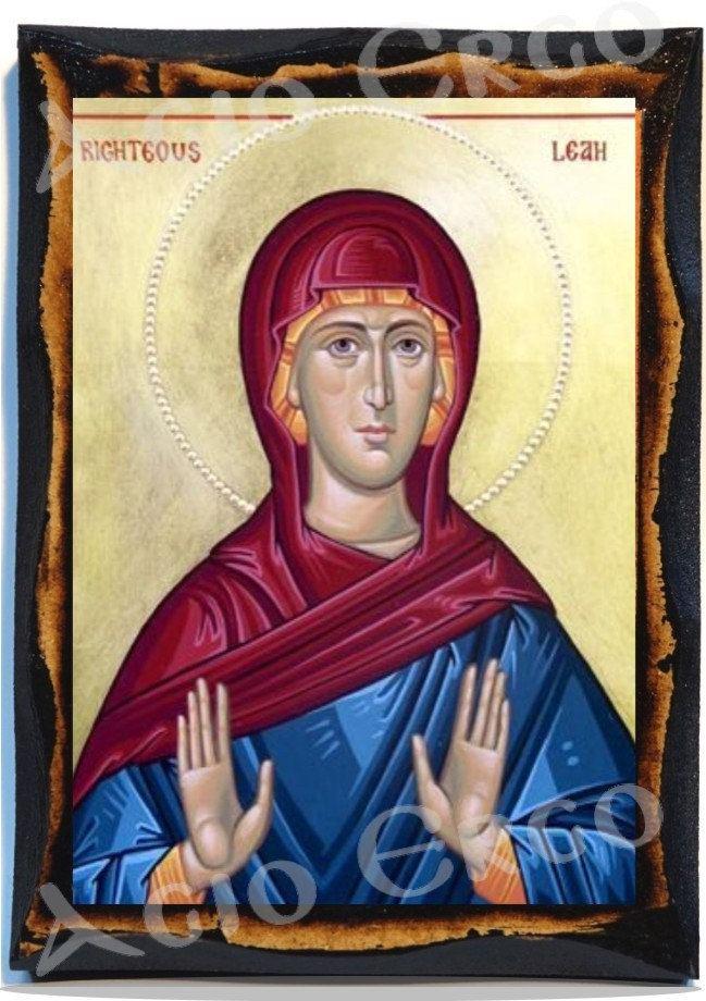 Saint Lea Saint Lea of Rome Greek Orthodox Russian Mount Athos