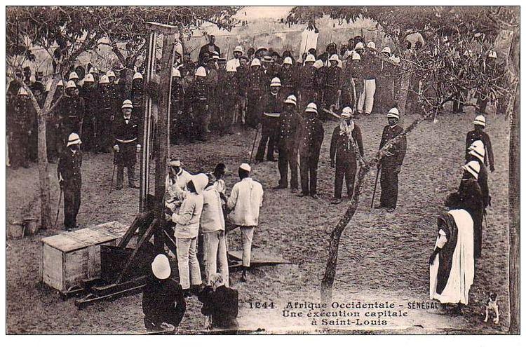 Saint Louis, Senegal in the past, History of Saint Louis, Senegal