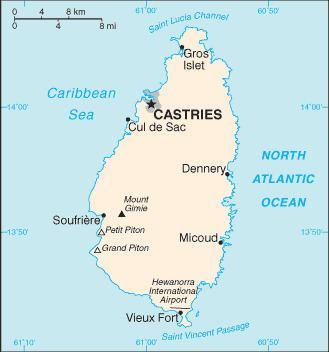 Saint Lucia Channel