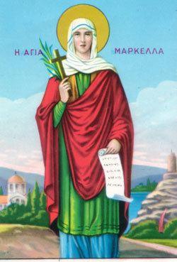 Saint Marcella St Marcella Saints Angels Catholic Online