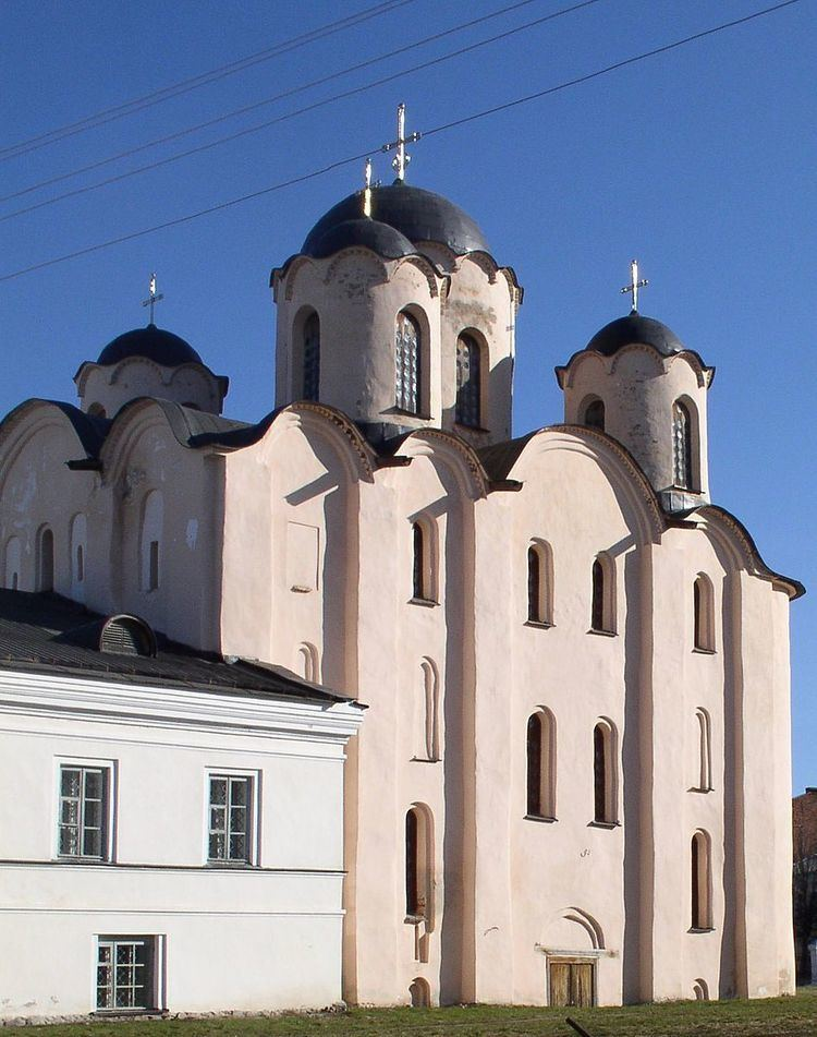 Saint Nicholas Cathedral, Novgorod