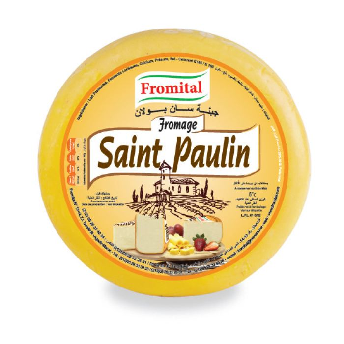 Saint-Paulin cheese Fromital Fromagerie Italienne Moroccan cheese Uncooked Pressed