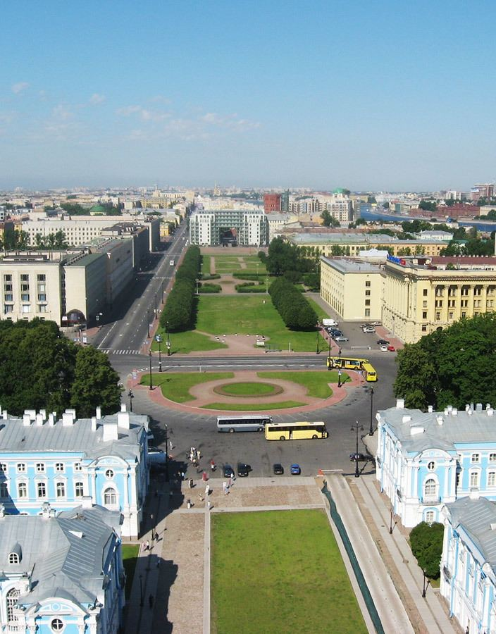 Saint Petersburg in the past, History of Saint Petersburg