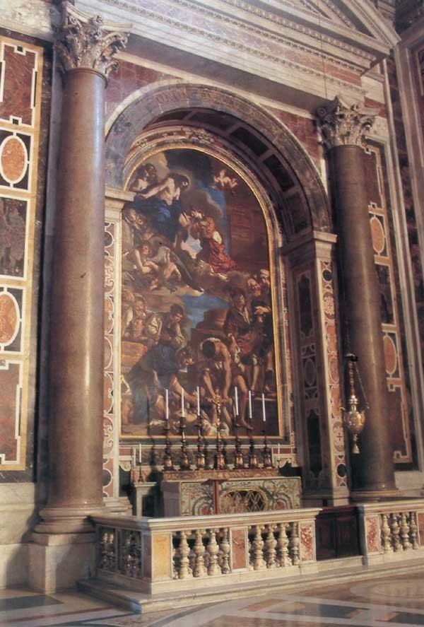 Saint Petronilla St Peter39s Altar of St Petronilla