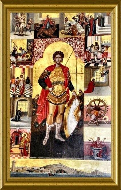 Saint Phanourios Saint Phanourios the Great Martyr and NewlyRevealed of Rhodes